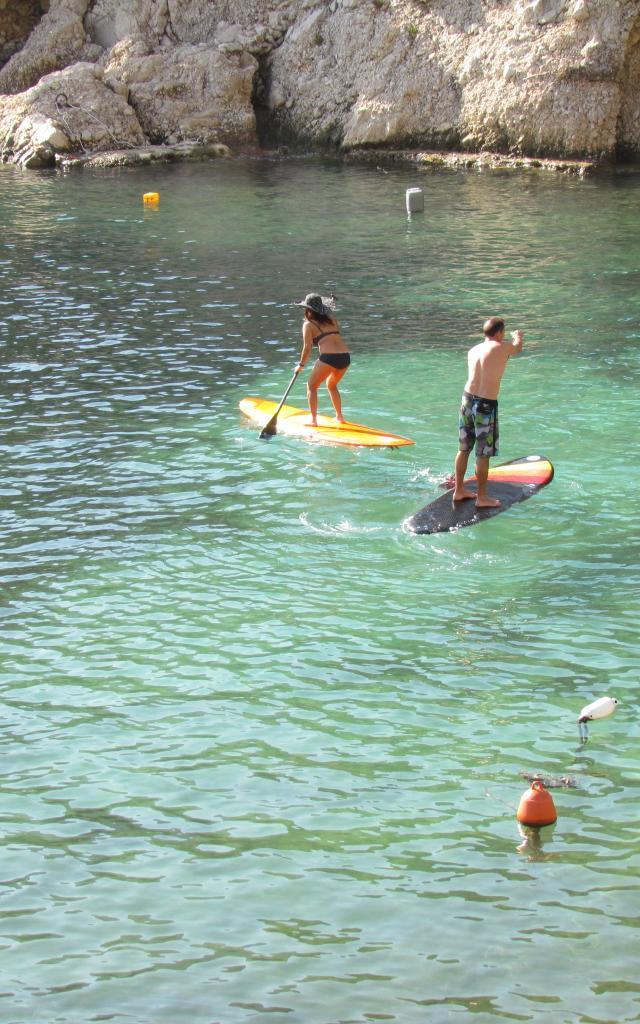 Calanques, Activités Nautiques Paddle
