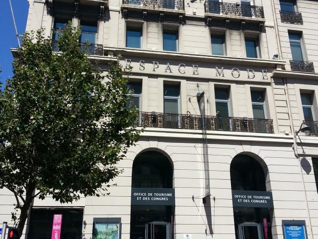 Office de Tourisme de Marseille Facade