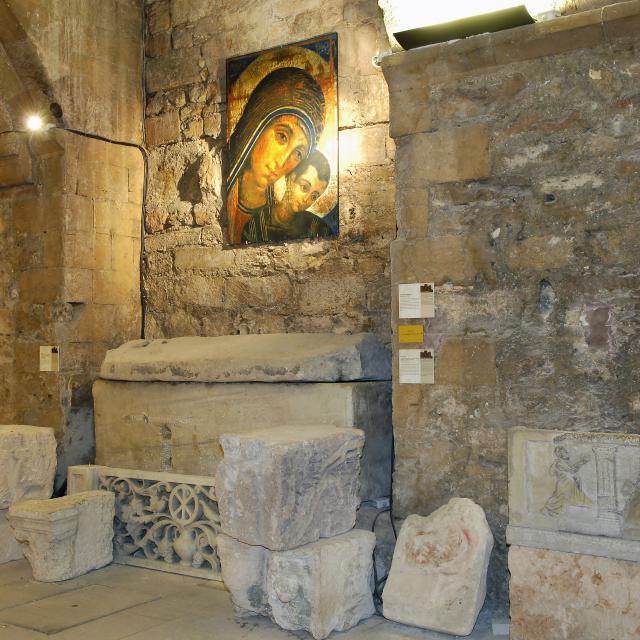 Abbaye St Victor à Marseille, cryptes