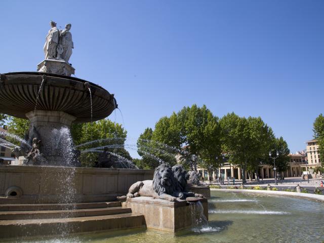 Centre ville d'Aix