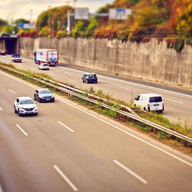 Autoroute et voitures