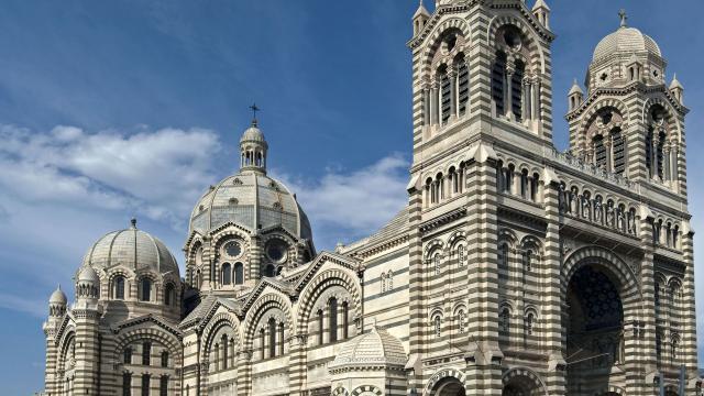 Cathedrale de la Nouvelle Major à Marseille