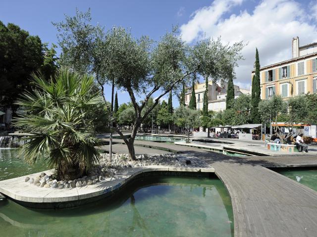 Fontaine sur le Cours Julien, Marseille