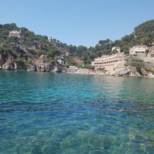 Calanque de la Redonne, petite plage