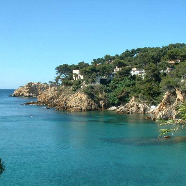 Calanque de la Redonne sur la Côte Bleue proche de Marseille