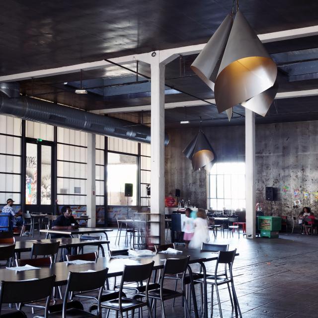 Friche Belle de Mai Marseille, restaurant Les Grandes tables de la Friche