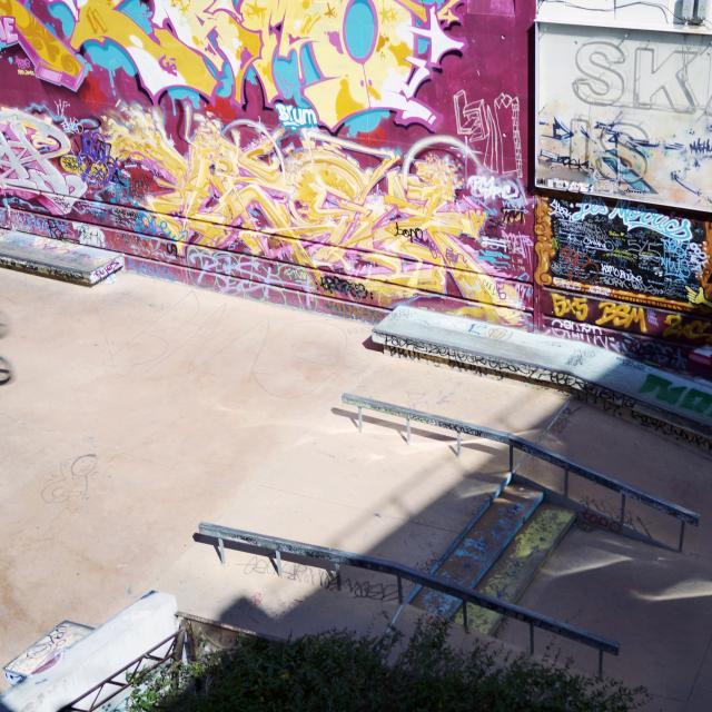 Friche Belle De Mai, skate park