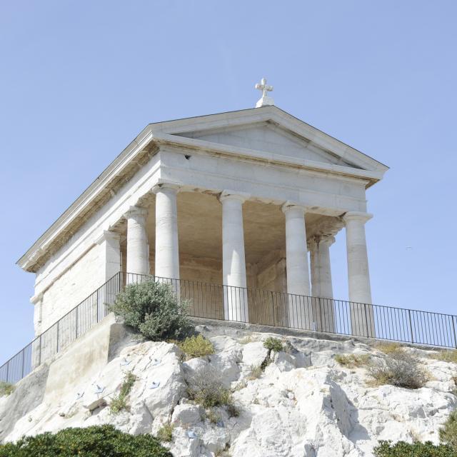 Iles du Frioul Marseille, Chapelle du Lazaret