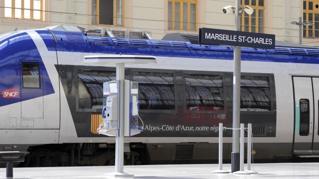 Gare St Charles, Tgv
