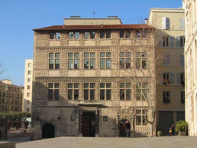 Maison Diamantée dans le quartier du Panier à Marseille