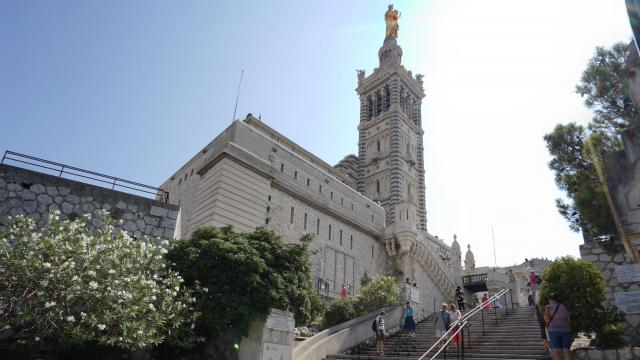 escalier de Notre Dame de la Garde