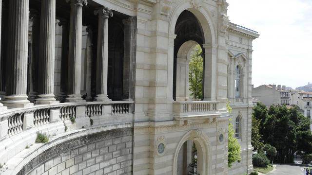 Palais Longchamp à Marseille, Escaliers Aile Sud, Museum d'histoire Naturelle