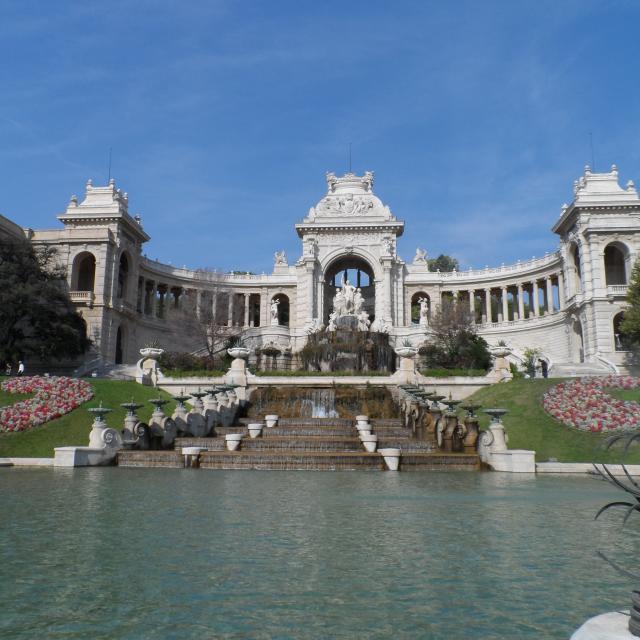 Palais Longchamp entrée principale