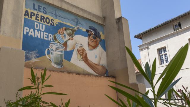 Quartier du Panier, affiche publicitaire