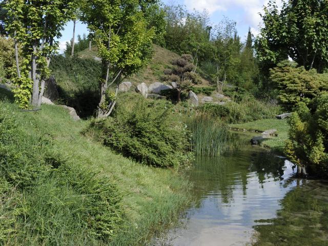Parc du 26ème Centenaire, végétation