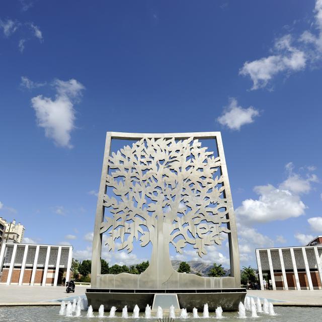 Parc Du 26e Centenaire Marseille, Fontaine arbre de l'Espérance