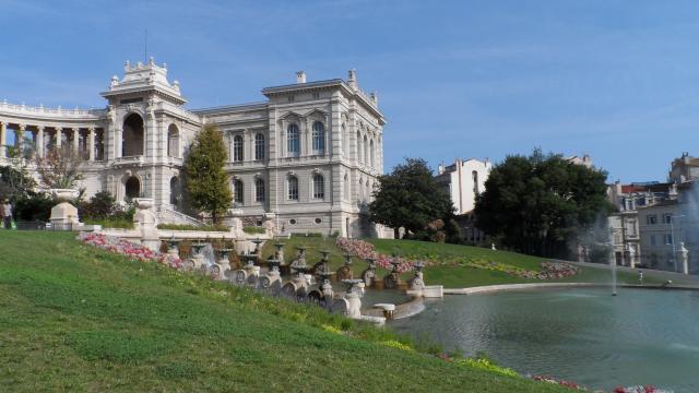 Palais Longchamp, aile Sud