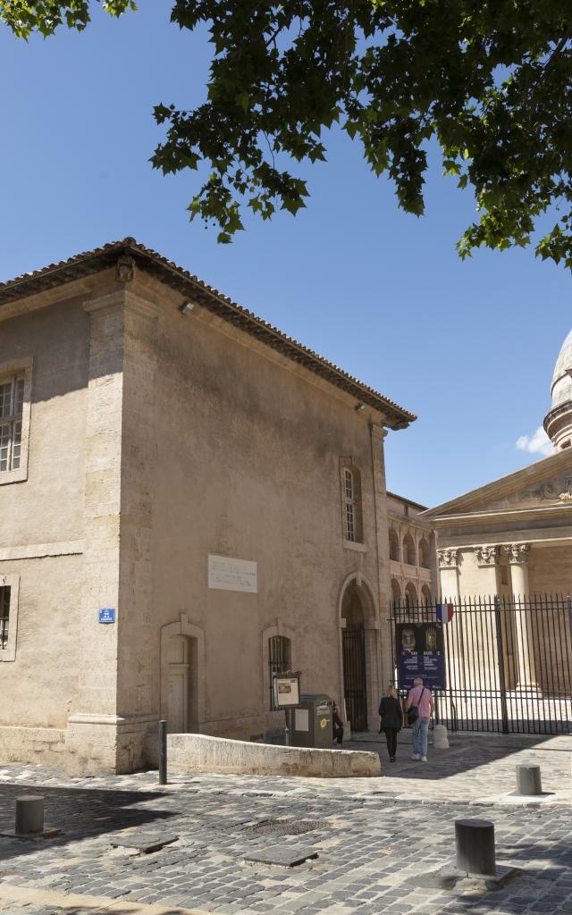entrée de la Vieille Charité dans le quartier du Panier à Marseille