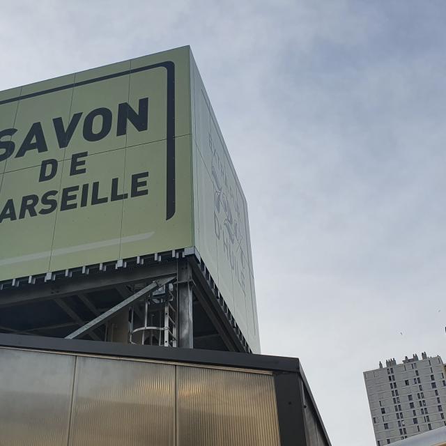 Savonnerie du Midi, affiche Savon de Marseille