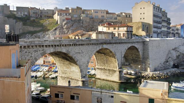 Vallon des Auffes, pont, H.AUER