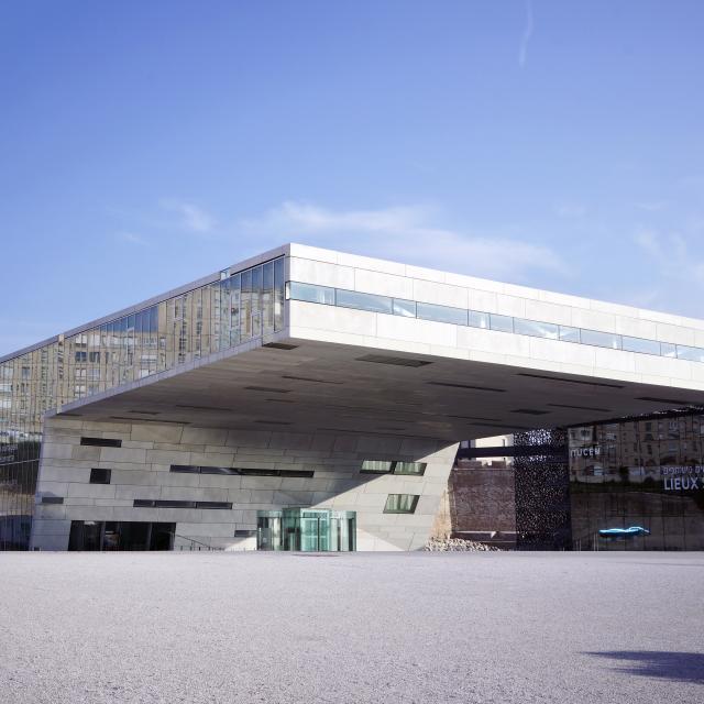 Villa Mediterranée à Marseille