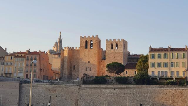 Abbaye Saint Victor et notre Dame de la garde