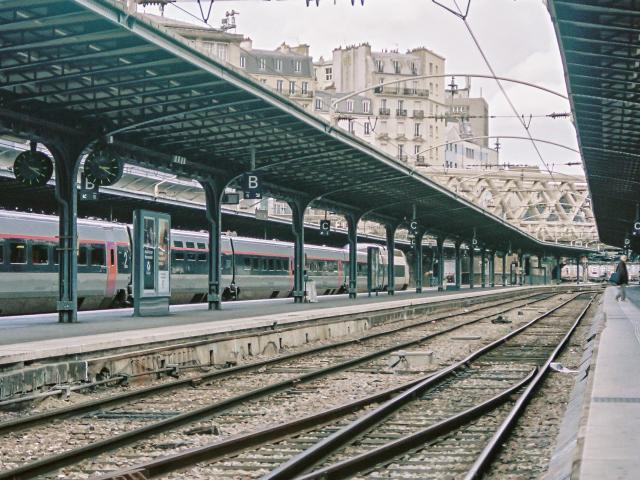 Gare ferroviaire@unsplash