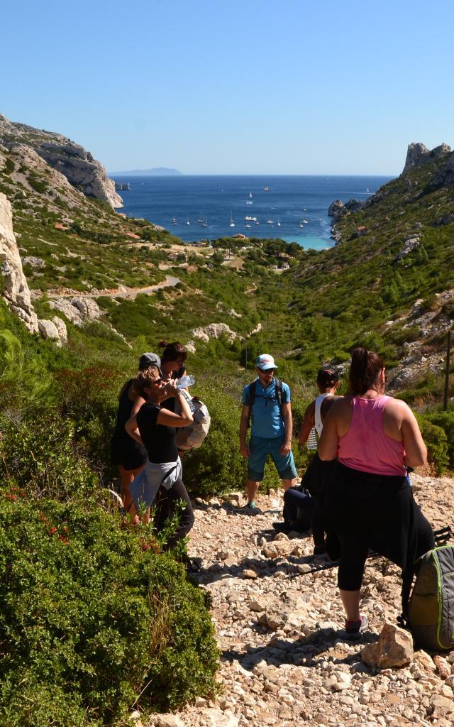 Balade bien être dans les Calanques de Marseille