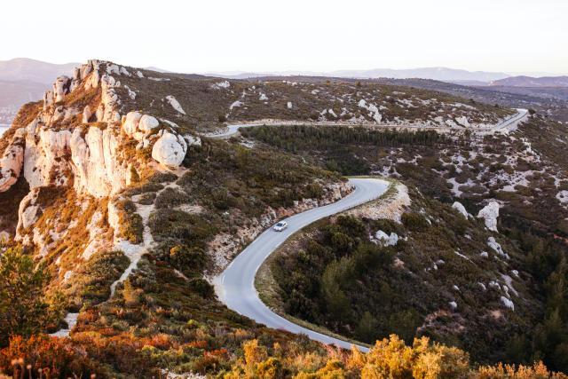Route des Crètes, voiture, accès calanques