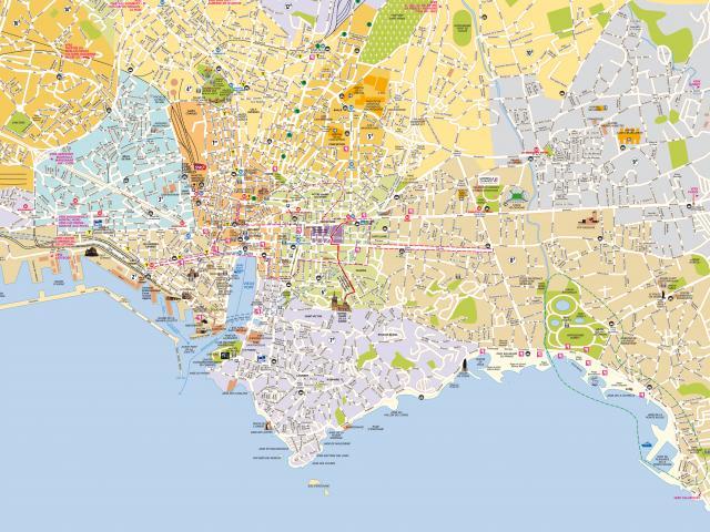 Plan général de la ville de Marseille