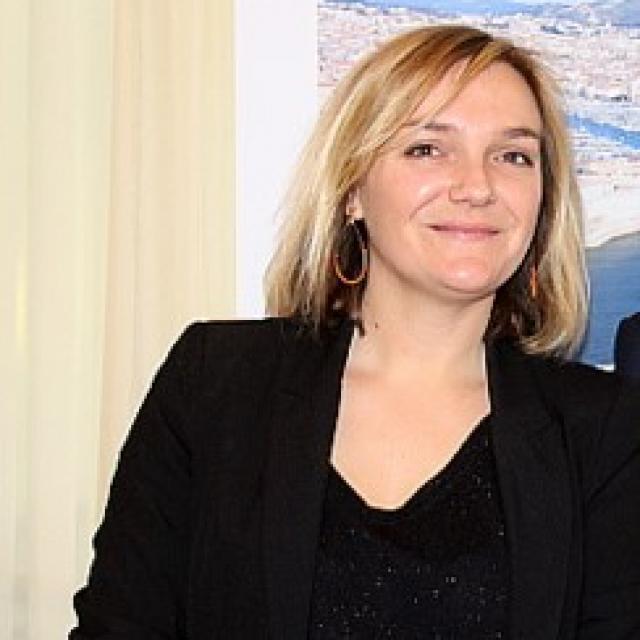 Emilie Bonnell de l'Office de tourisme de marseille