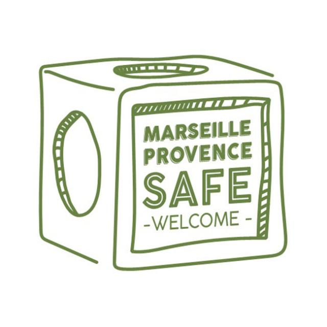 Logo Marseille Provence Safe Welcome