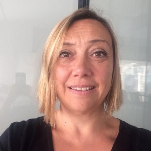 Marie Pierre Vouriot de l'Office de tourisme de marseille