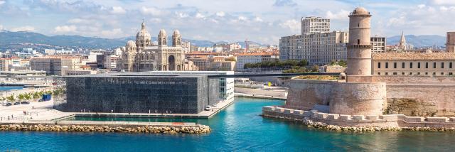 Le Mucem et le Fort Saint Jean à Marseille