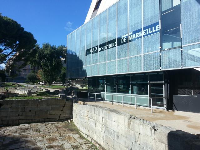 Musée d'Histoire de Marseille et jardin du Port Antique à Marseille