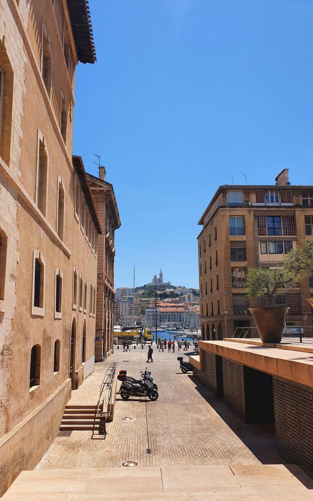 Place Bargemon, Vieux-Port et Notre Dame de la Garde
