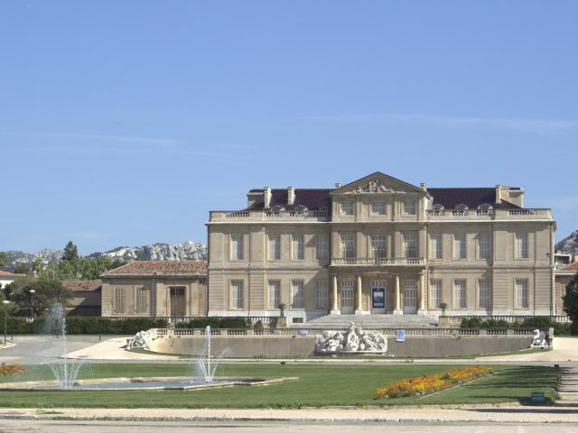 chateau du parc borely et fontaine