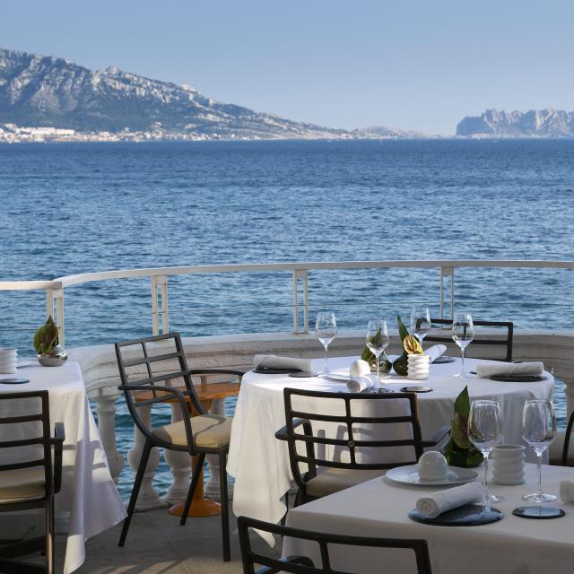 Restaurants Groupes, bord de mer à Marseille
