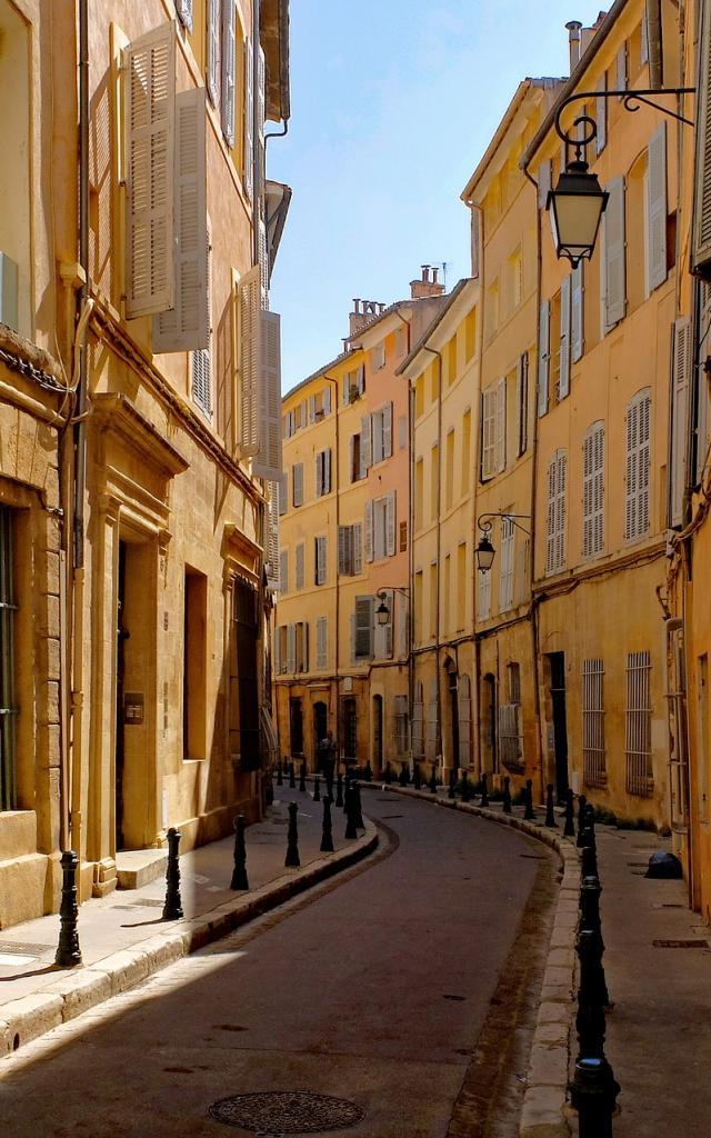 Ruelles d'aix en Provence