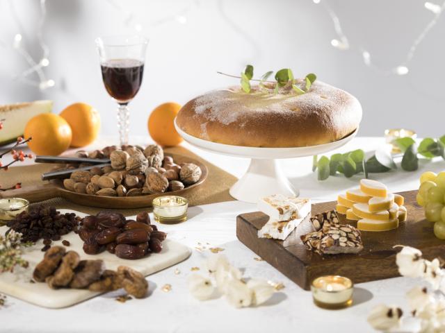 table présentant les 13 desserts Provencaux
