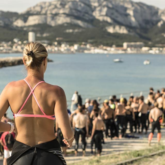 Sportifs en préparation du Défi de Monte Cristo