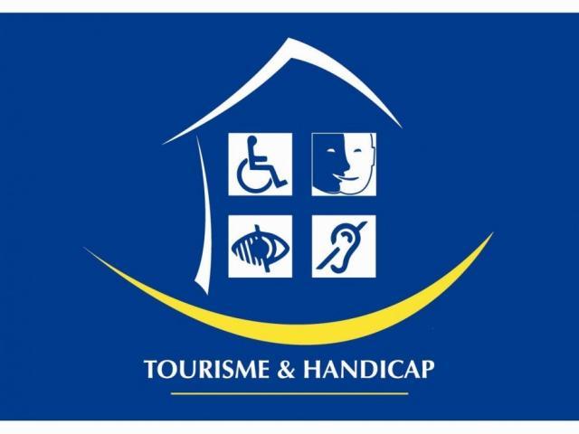 Label Tourisme et handicap logo