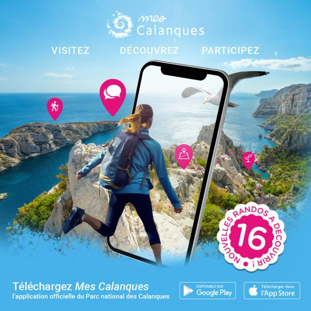 Application Mes Calanques