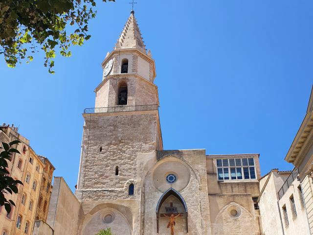 Eglise des Accoules dans le quartier du Panier