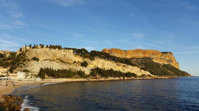 plage de Cassis et Cap Canaille