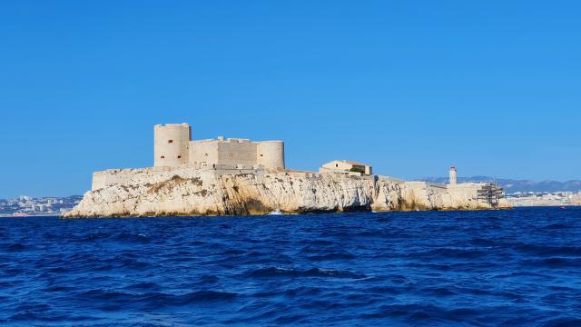 Chateau d'If vu de la mer