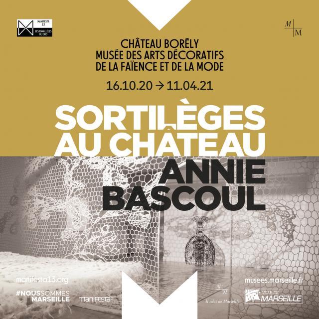 affiche de l'exposition annie bascoul au Musée Borély