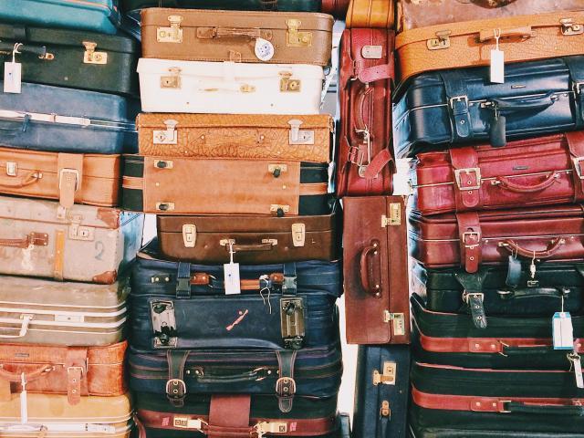 Bagages empilés