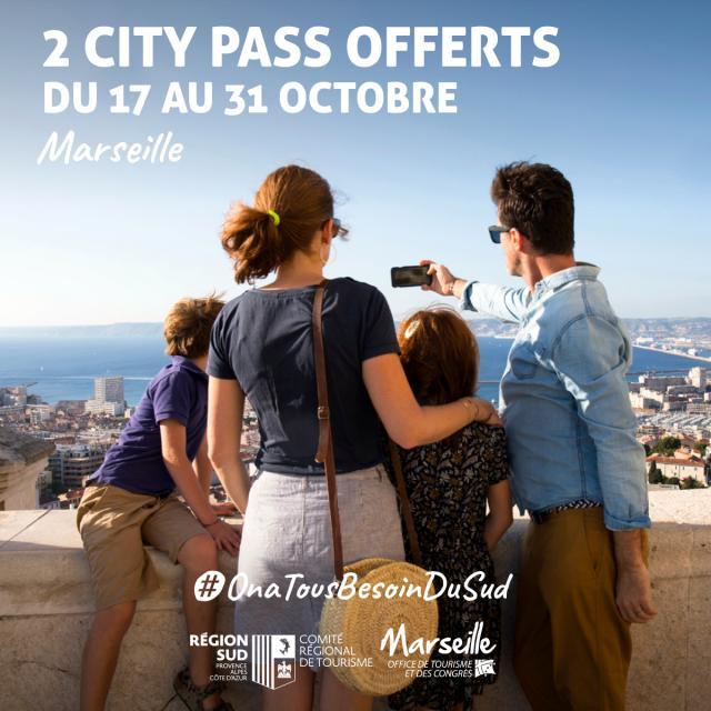offre city pass vacances de la toussaint à marseille