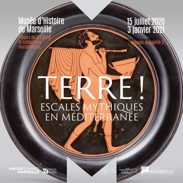 affiche de l'exposition Terre au Musée d'histoire de Marseille